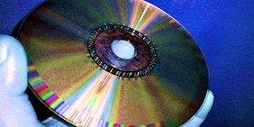 Eine Daten Compact Disc