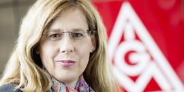 Irene Schulz, Mitglied des Hauptvorstands der IG Metall, Foto: Olaf Hermann