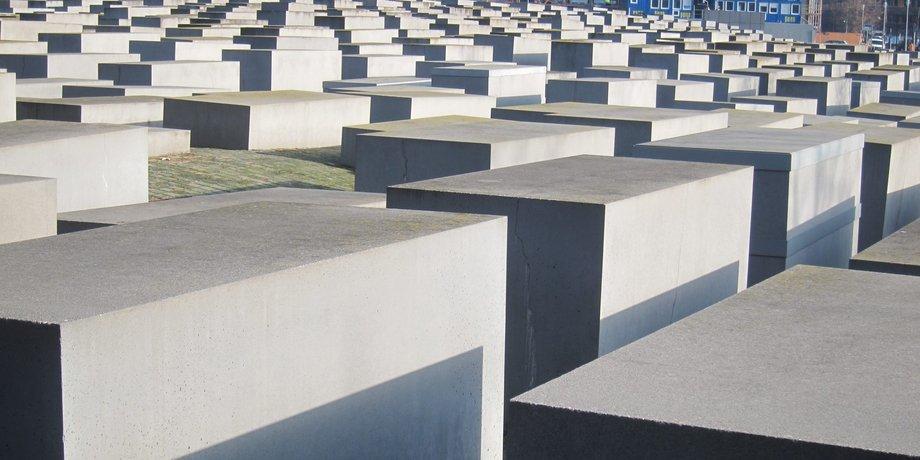 Mahnmal der ermordeten Juden Deutschlands Berlin