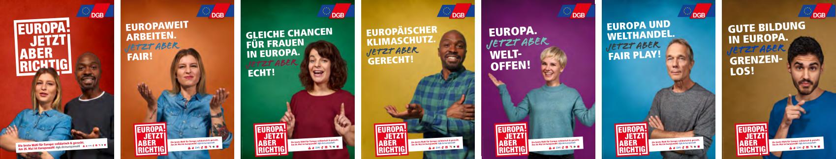 Tag der Arbeit in Berlin 2019:  EUROPA. JETZT ABER RICHTIG!