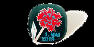 Mai-Nelken und Mai-Pins 2017