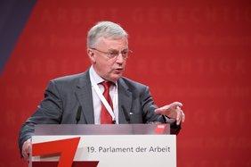 John Monks, Generalsekretär des Europäischen Gewerkschaftsbundes