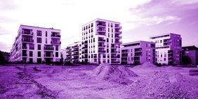 Mietwohnungsbau Baustelle