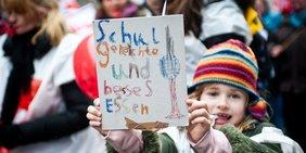Kind auf GEW-Demo
