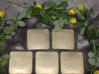 Neue Stolpersteine für Opfer des Nationalsozialismus im Weitlingkiez in Lichtenberg verlegt