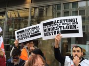 Warnstreik am 8. März, NGG
